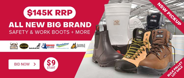 All new big brand safety & work boot & More
