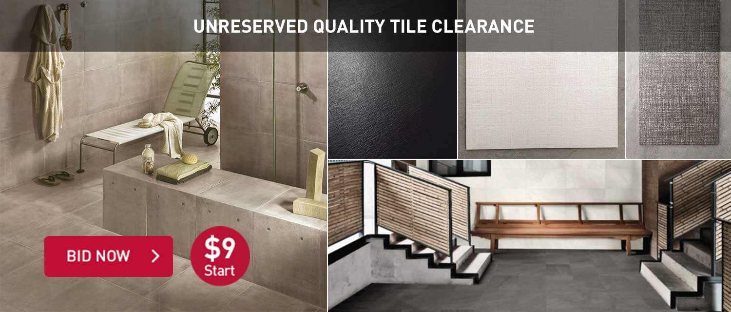 Unreserved Quality Tile Clearance