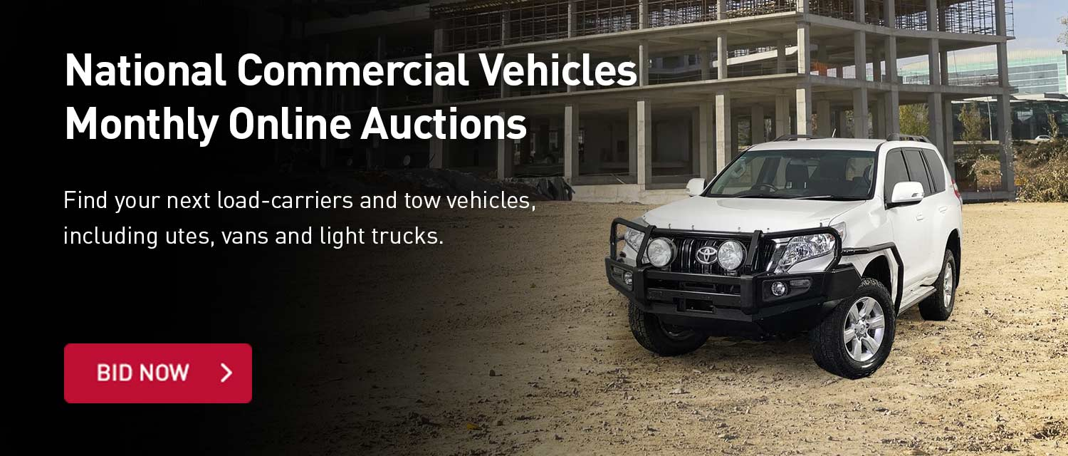 National Comeercial Vehicles Monthly Online Auctions