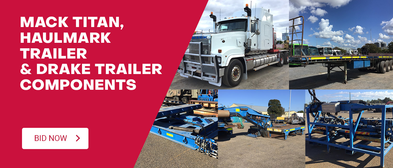 Mack Titan, Haulmark Trailer & Drake Trailer Components