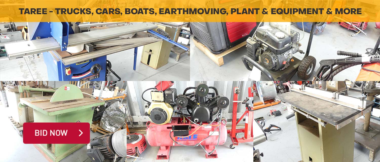Taree - Trucks, Cars, Boats, Earthmoving, Plant & Equipment & More