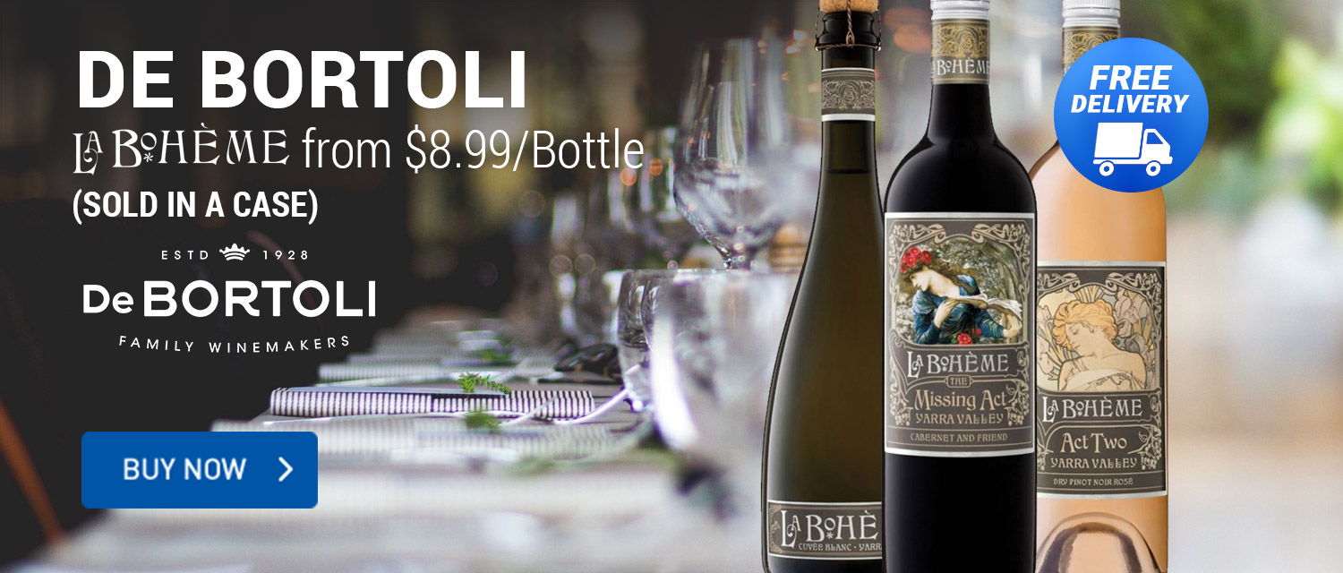 De Bortoli from $8.99/Bottle (Sold in Case)