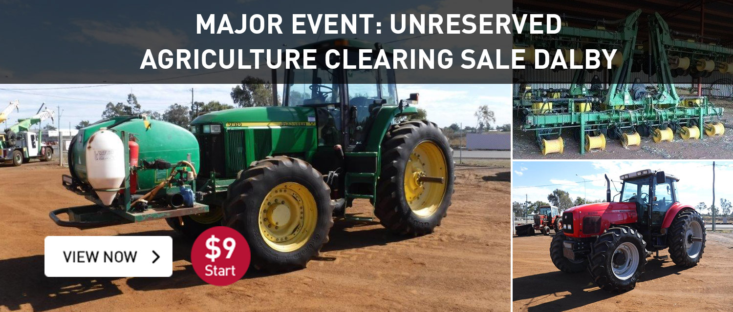 Major Event: Unreserved Agriculture Clearing Sale Dalby