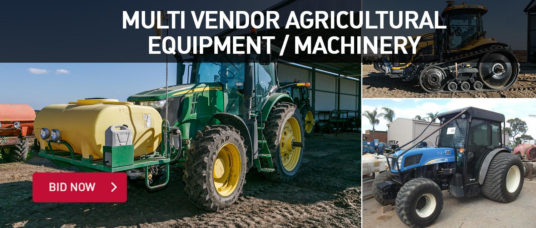 Multi Vendor Agricultural Equipment / Machinery
