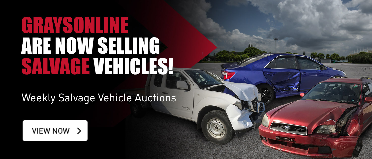 We're Now Selling Salvage Vehicles