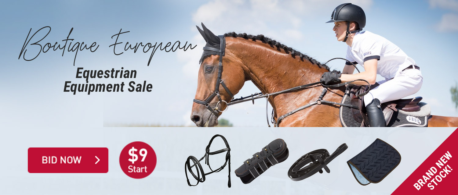 Boutique European Equestrian Equipment Sale