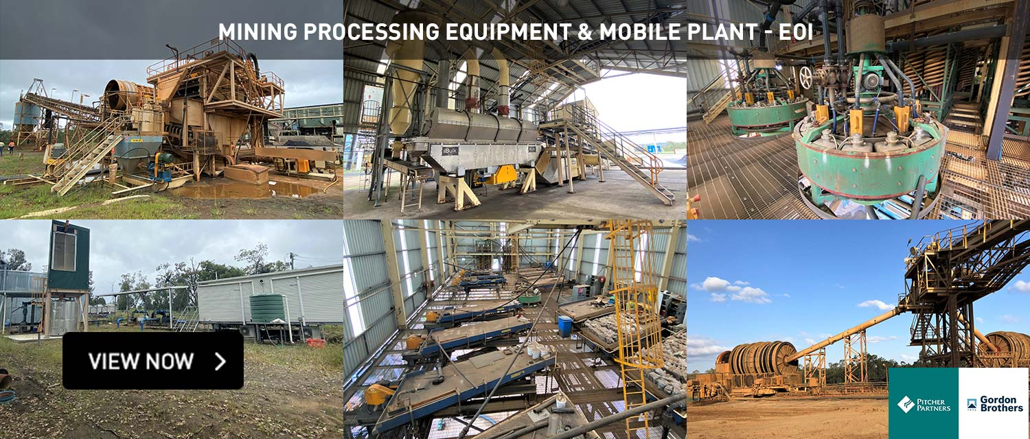 Mining Processing Equipment & Mobile Plant - EOI