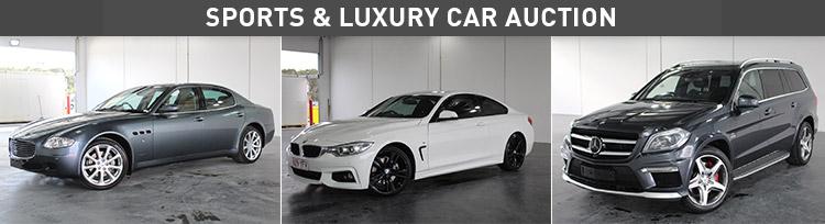 Sports & Luxury Car Auction