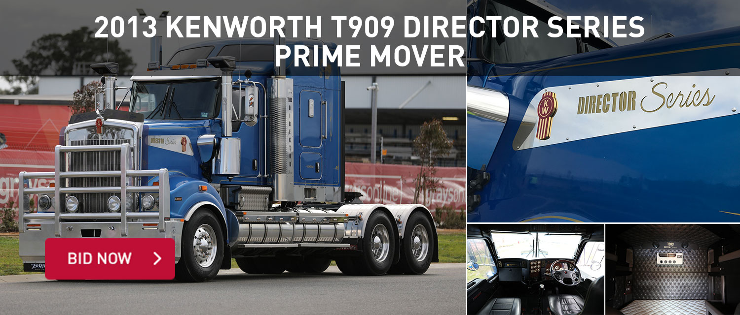 2013 Kenworth T909 Directors series Prime Mover