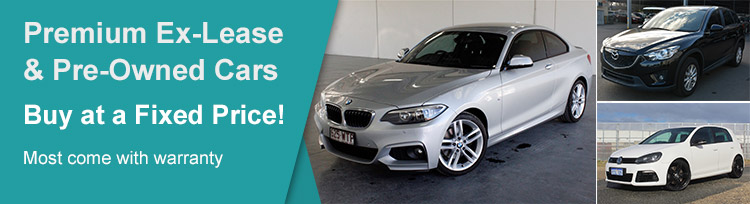 Premium Ex-Lease & Pre-Owned Cars | Buy at a Fixed Price! Most come with warranty