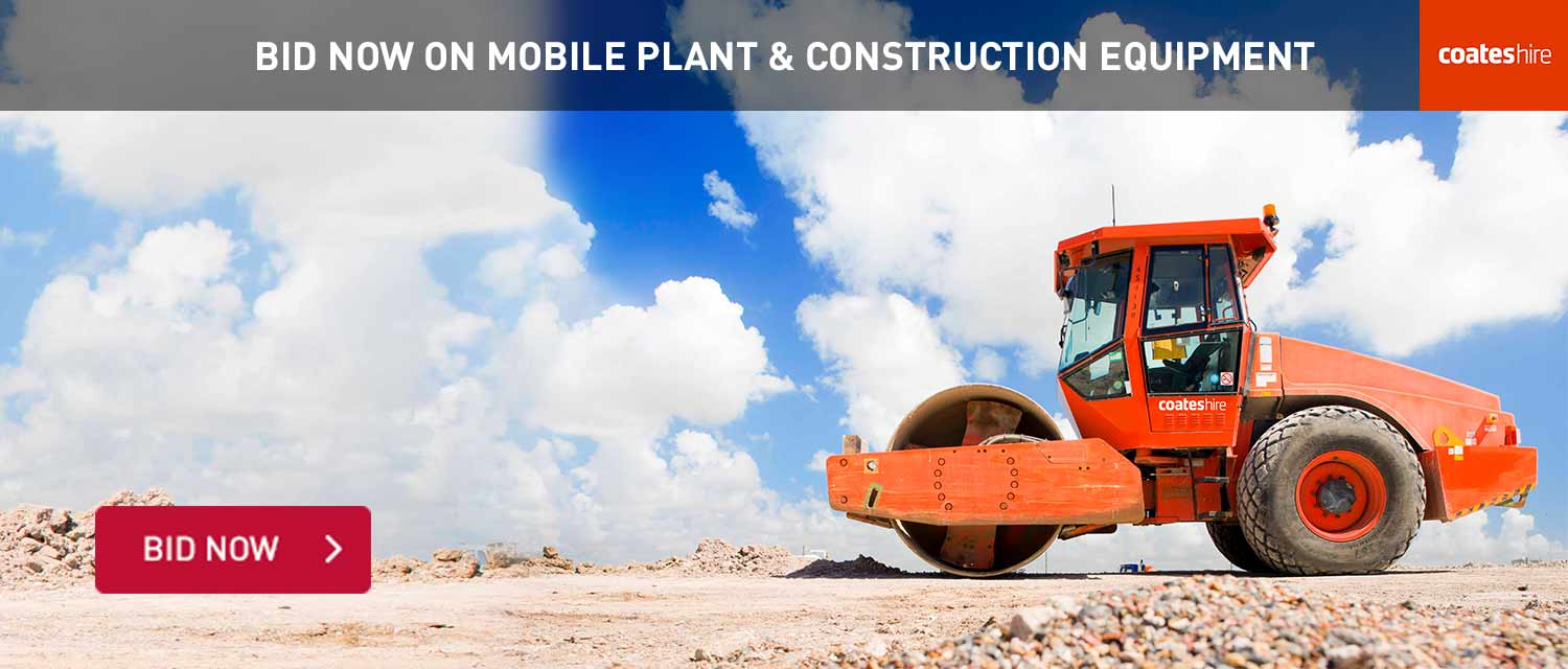 Bid Now Mobile PLant and Construction Equipment