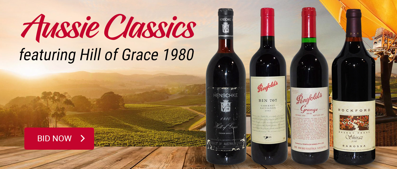 Aussie Classics featuring Hill of Grace 1980