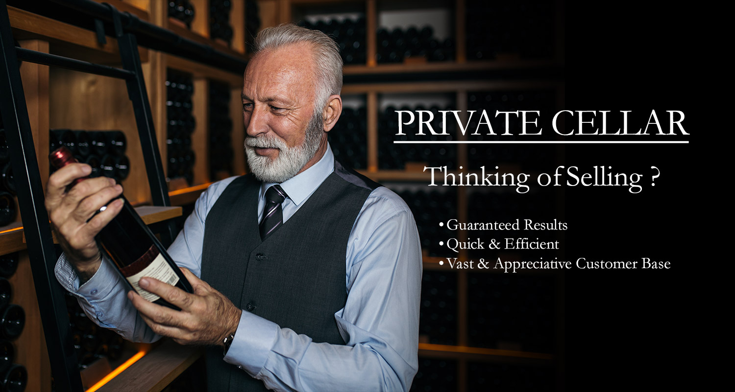 GraysWine Private Cellar - Thanking of Selling