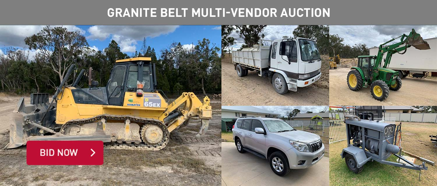 Granite Belt Multi-Vendor Auction