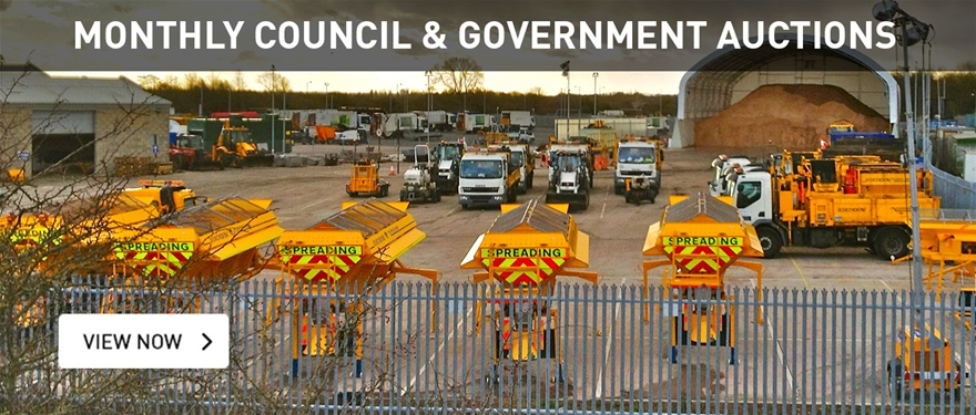 Monthly Council and Government Auctions