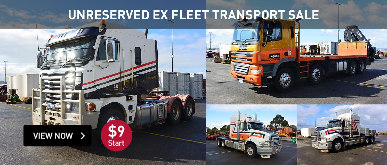 Unreserved Ex-Fleet Transport Sale