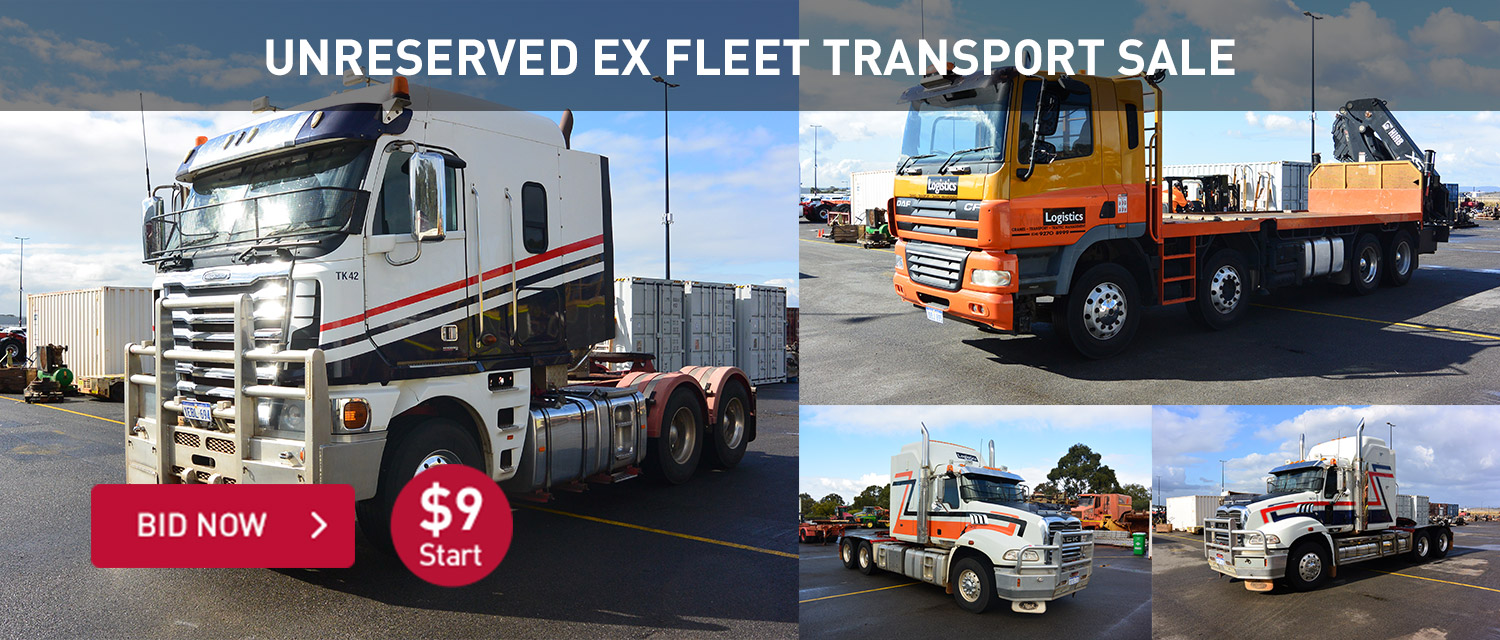 Unreserved Ex-Fleet Transport Sale