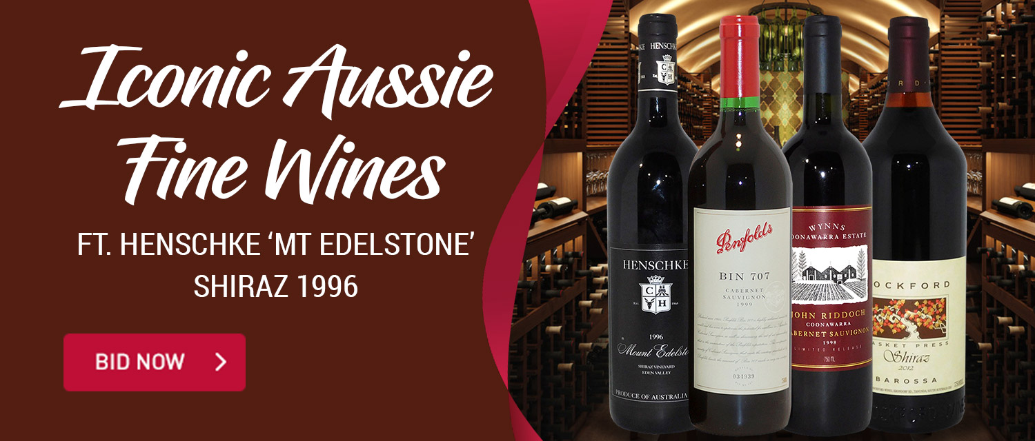 Iconic Aussie Fine Wines