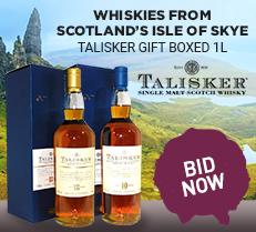 Whiskies from Scotland's isle of Skye