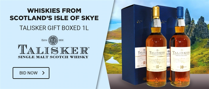 Whiskies from Scotland%u2019s Isle of Skye - Talisker Gift Boxed 1L