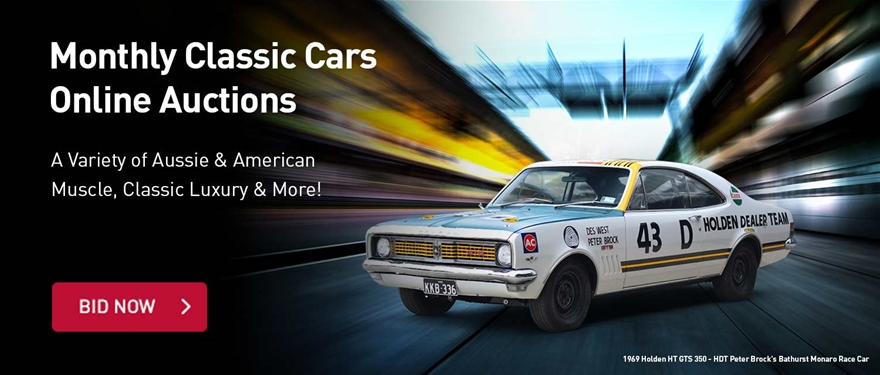 Monthly Classic Cars Online Auctions