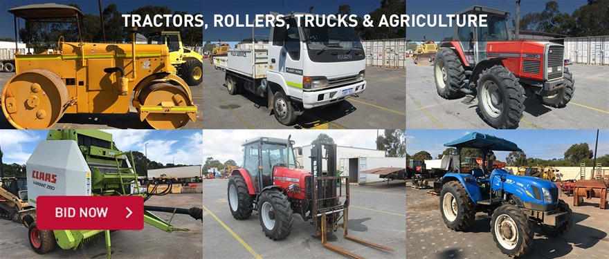 Tractors, Rollers, Trucks & Agriculture