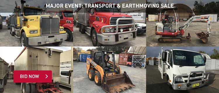 Major Event: Transport & Earthmoving Sale