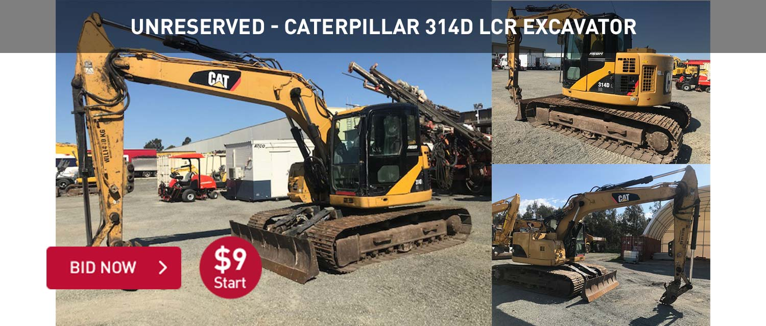 Unreserved - Caterpillar 314D LCR Excavator