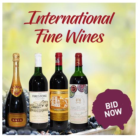 INternation Fine Wines   BID NOW