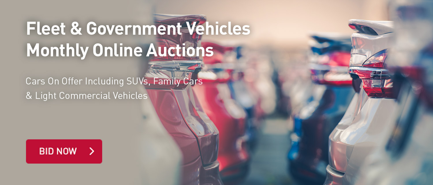 Fleet and Government Vehicles Monthly Online Auctions