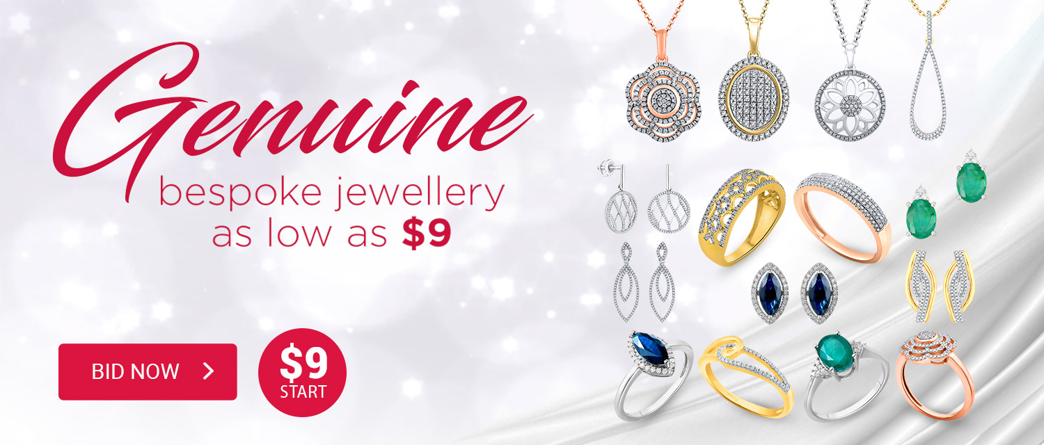Genuine Bespoke Jewellery as Low As $9