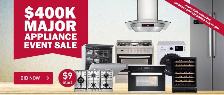 $400k Major Appliance Event Sale