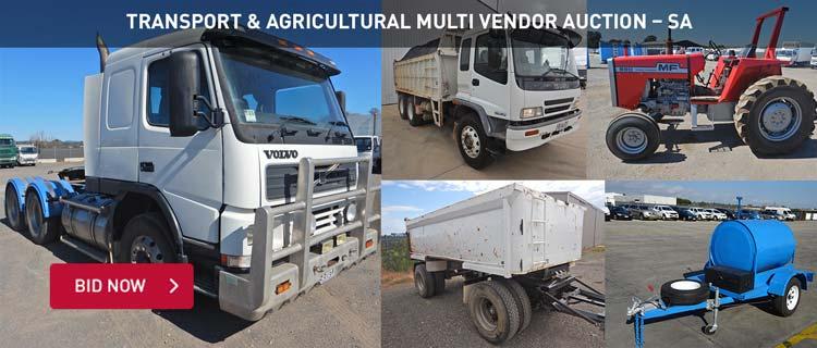 Transport & Agricultural Multi Vendor Auction %u2013 SA