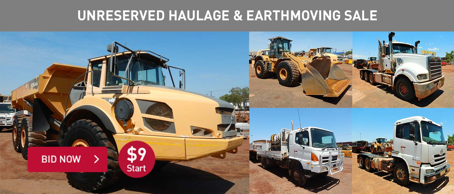 Unreserved Haulage and Earthmoving