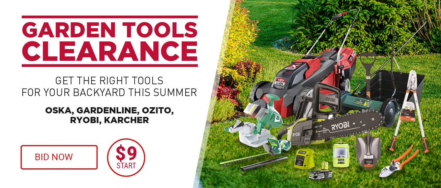 Garden Tools Clearance