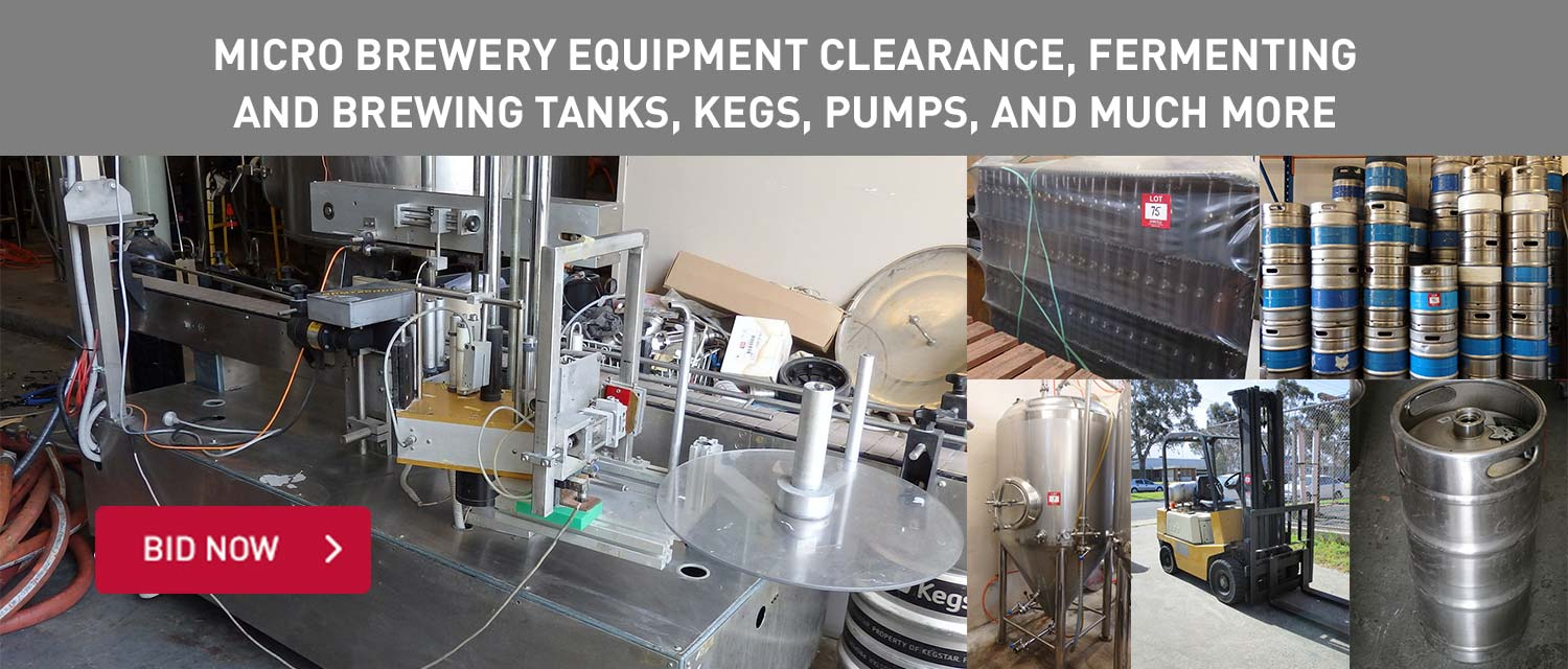 Micro Brewery Equipment Clearance, Fermenting and Brewing Tanks, Kegs, Pumps, and Much More