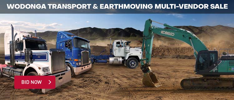 Wodonga Transport & Earthmoving Multi-Vendor Sale