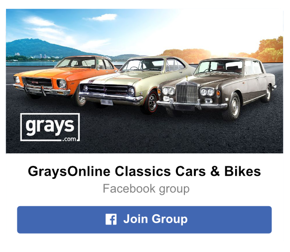 GraysOnline Classic Car Facebook Group