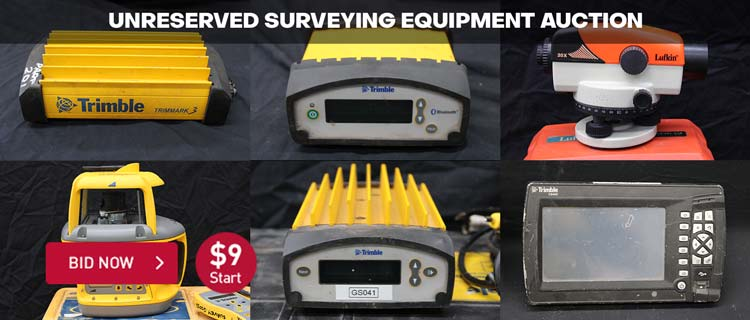 Unreserved Surveying Equipment Auction
