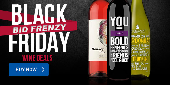 Black Friday Bid Frenzy | Wine Deals