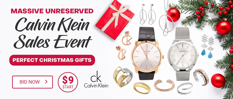 Massive Unreserved Calvin Klein Sales Event