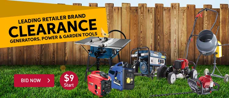 Leading Retailer Brand Tools Clearance