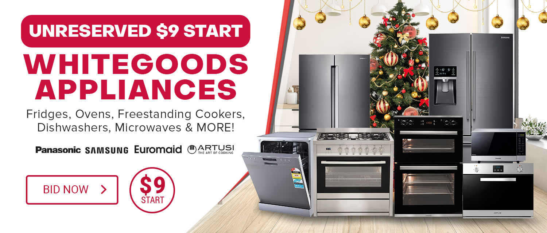 Unrserved Whitegoods Appliances