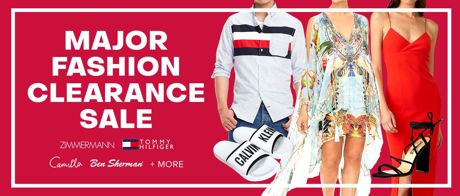 Major Fashion Clearance Sale