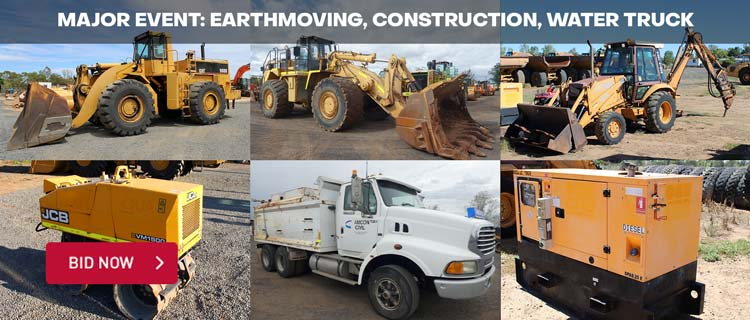 Major Event: Earthmoving, Construction, Water Truck