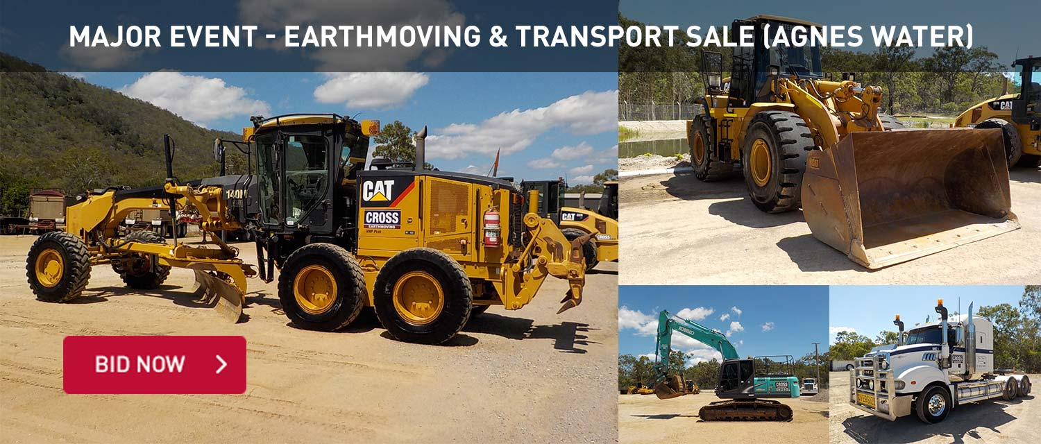 Major Event Earthmoving and Transport Sale