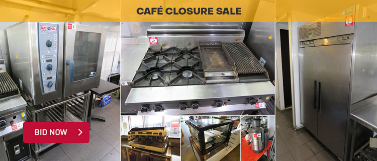 Unreserved Caf� Closure Sale