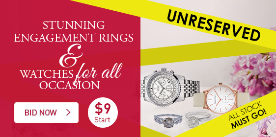 Stunning Engagement Rings & Watches