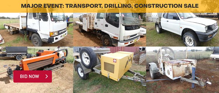 Major Event: Transport, Drilling, Construction Sale