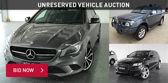 Unreserved Vehicle Auction